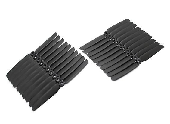 Gemfan Multirotor CRP Confezione Bulk 6x3 nero (CW / CCW) (10 coppie)