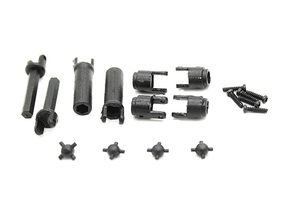 Center Drive Shaft (1pair) - Kit OH35P01 1/35 Rock Crawler