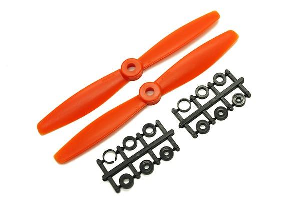 Gemfan Bull Nose BN6045 Eliche CW / CCW Set (arancione) 6 x 4.5