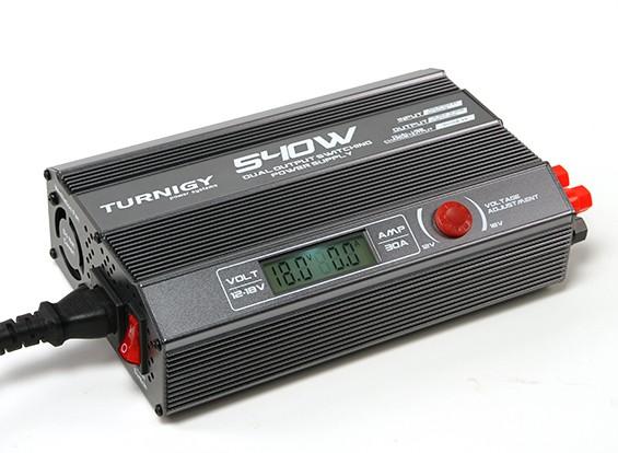 TURNIGY 540W doppia uscita Switching Power Supply (UK Plug)