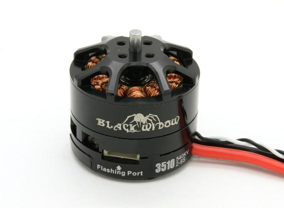 Black Widow 3510-540Kv con built-in ESC CW / CCW