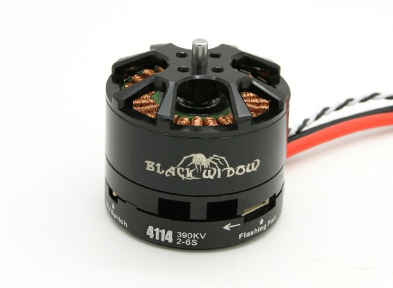 Black Widow 4110-460Kv con built-in ESC CW / CCW