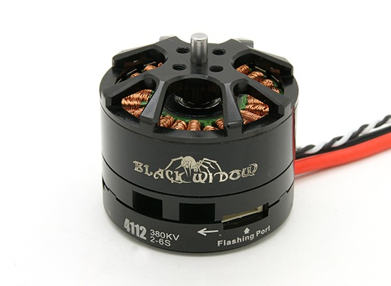 Black Widow 4112-380Kv con built-in ESC CW / CCW