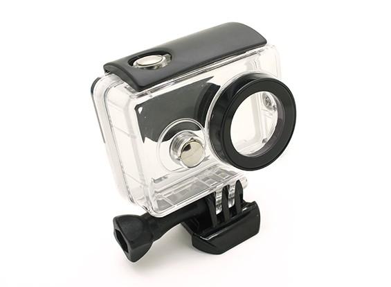 Custodia impermeabile per la macchina fotografica Xiaoyi azione w / Universal Quick Release Monte