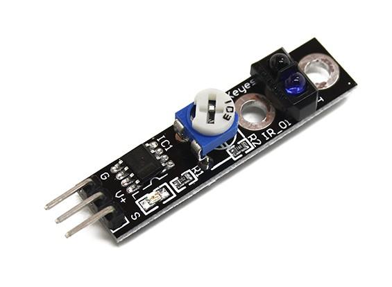 Keyes automobile intelligente Tracing Nero Sensore caccia / Linea Bianca per Arduino