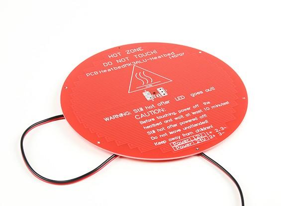 Stampante 3D Hot Bed Delta Rostock rotonda MK3 Dual Power RepRap