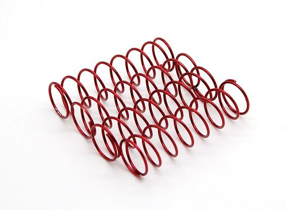 Trackstar Sospensione primavera rosso 14 x 55 1.8KG (4) S169155