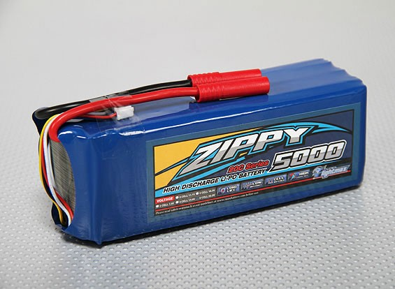 ZIPPY Flightmax 5000mAh 6S1P 20C