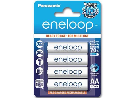 Panasonic Eneloop batteria 1900mAh NiMH AA (4 pezzi)