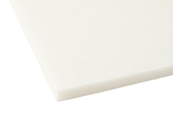 Aero-modellazione bordo della gomma piuma 10 millimetri x 500 millimetri x 700 millimetri (bianco)