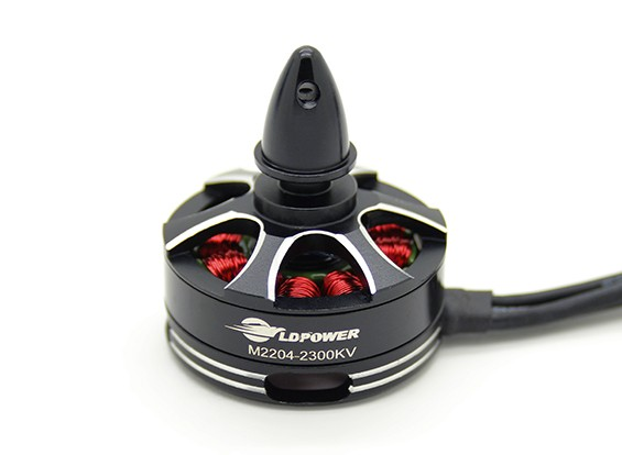 LDPOWER M2204-2300KV Brushless Multicopter motore (CCW)