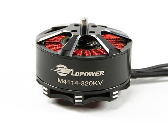LDPOWER M4114-320KV Brushless Multicopter motore (CW)