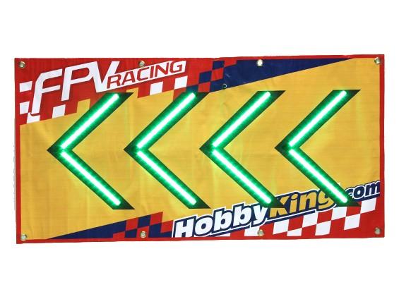 FPV corsa LED Segno di freccia (a sinistra)
