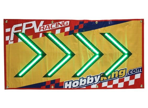 FPV corsa LED Segno di freccia (destra)