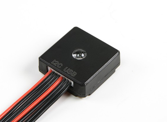 Pixhawk RGB LED & USB Extension Module w / custodia protettiva