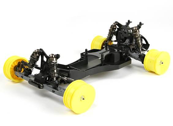 BZ-222 Pro 1 / 10th 2WD Buggy corsa (Un-assemblato Kit Version)