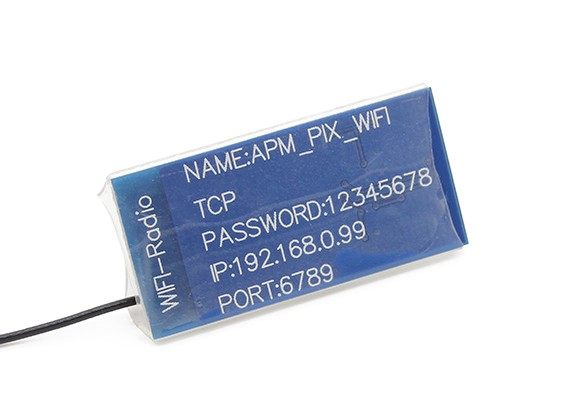 Modulo radio WiFi APM / Pixhawk senza fili