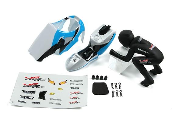 BSR 1000R pezzo di ricambio - Shell & Rider corpo