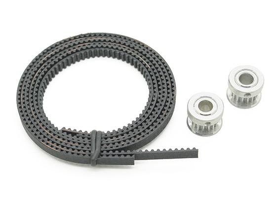 Turnigy Mini Fabrikator stampante 3D v1.0 Ricambi - cinghia dentata e puleggia