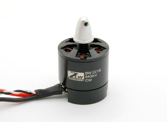 Black Widow 2216 640KV con built-in ESC CW