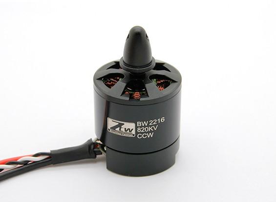 Black Widow 2216 820KV con built-in ESC CCW