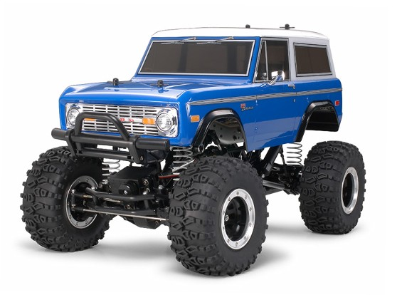 Tamiya 1/10 Scale Ford Bronco 1973 / Kit CR01 Series