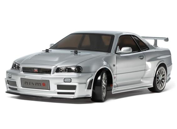 Tamiya 1/10 Scale Skyline GT-R Z-Tune R34 TT02D Serie Kit 58605