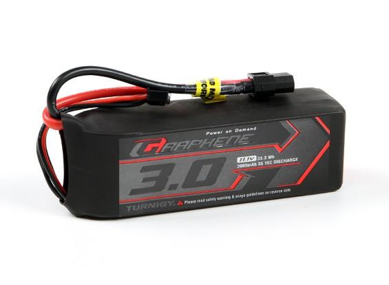 Turnigy grafene professionale 3000mAh 3S 15C LiPo pacchetto w / XT60