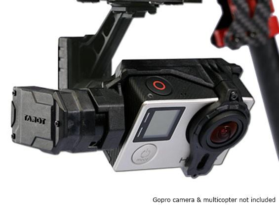 Tarot GOPRO T4-3D 3 assi brushless Camera giunto cardanico