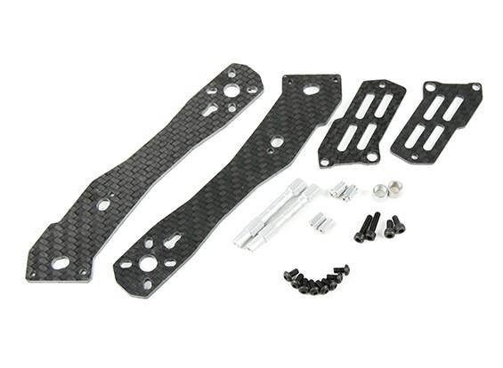 Tarocchi metà Carbon braccio posteriore da 2,5 mm per TL280H metà in fibra di carbonio multi-rotori