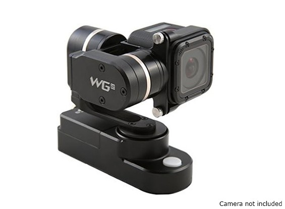 Feiyu Tech WGS 3 assi Wearable Gimbal per GoPro Hero4 Session