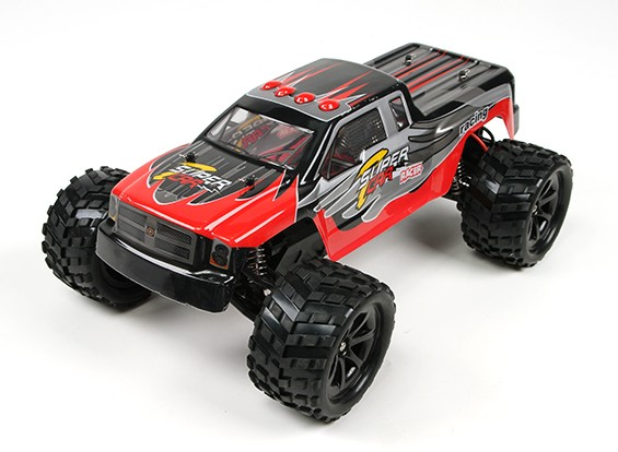 Giocattoli di WL 1/12 L969 2WD High Speed Monster Truck w / 2.4Ghz Radio System (RTR)