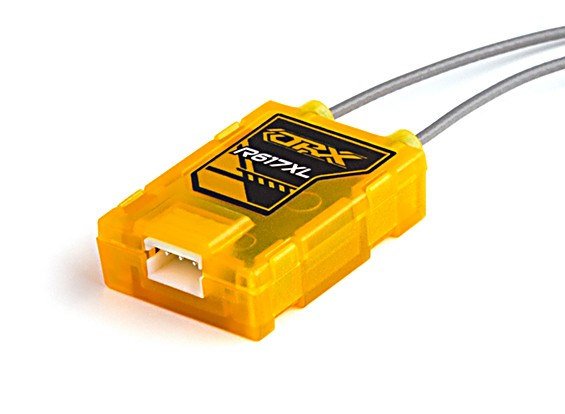 R617XL - / x ricevente DSM2 6CH con una lunga antenna e CPPM