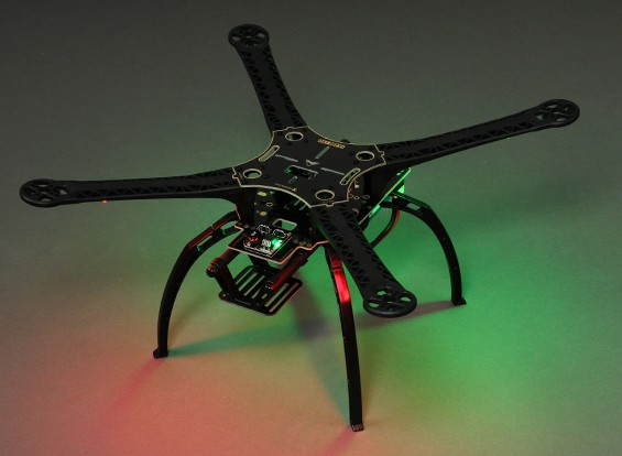 SK LIGHTNING 480 Quad-elicottero Frame (Kit)