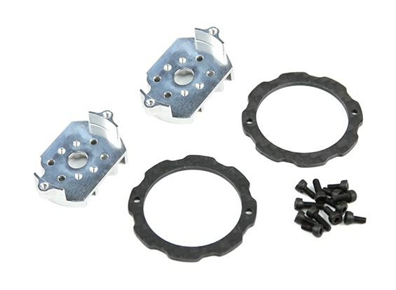 Angolo di inclinazione Tarocchi 7 gradi per 1806 Motore e anello di protezione motore
