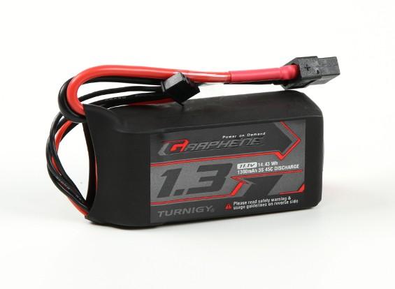 Turnigy grafene 1300mAh 3S 45C LiPo pacchetto w / XT60