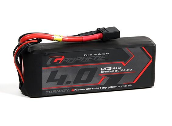 Turnigy grafene 4000mAh 4S 65C Lipo del pacchetto w / XT90