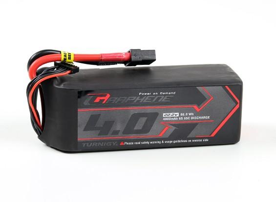 Turnigy grafene 4000mAh 6S 65C Lipo del pacchetto w / XT90