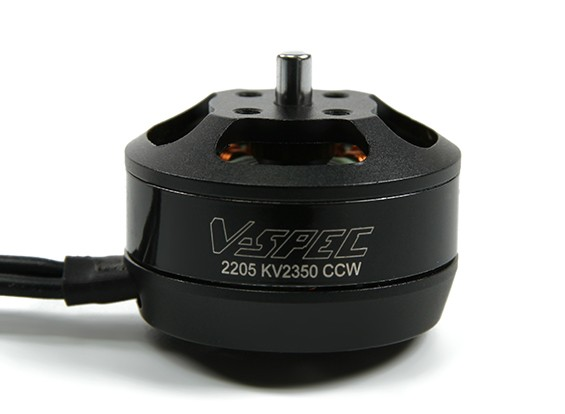 MultiStar V-Spec 2205 - 2350KV Multi-rotore del motore (CCW) (.15LAM)