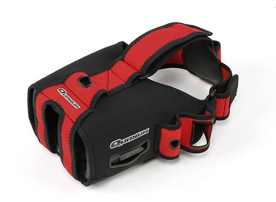 Quanum fai da te FPV Goggle V2Pro Aggiornamento guanto (Rosso / Nero)