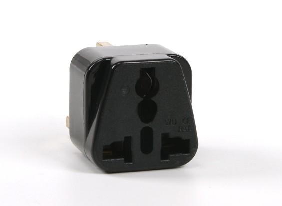 Turnigy WD-7 Fused 13 Amp alimentazione di rete multi-adattatore nero (UK Plug)