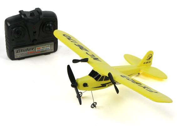 Piper J3 Cub FX-803 Semi-Scale Micro aereo 320 millimetri RTF