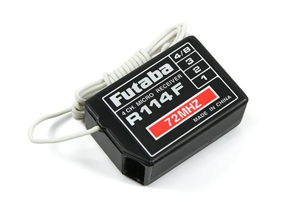 Futaba R114F FM 72MHz 4 canali ad alta ricevitore senza cristallo