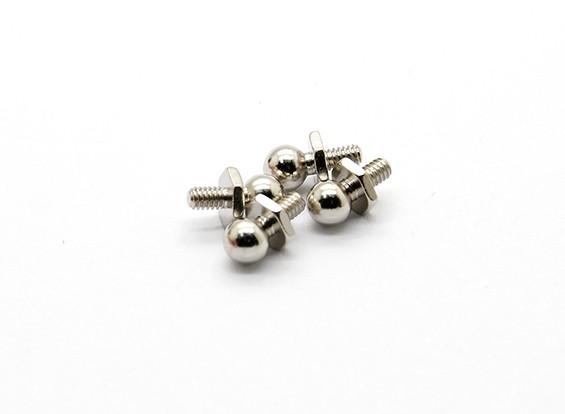 Palla Stud A (4 pezzi) - Basher Rocksta 1/24 4WS Mini Rock Crawler