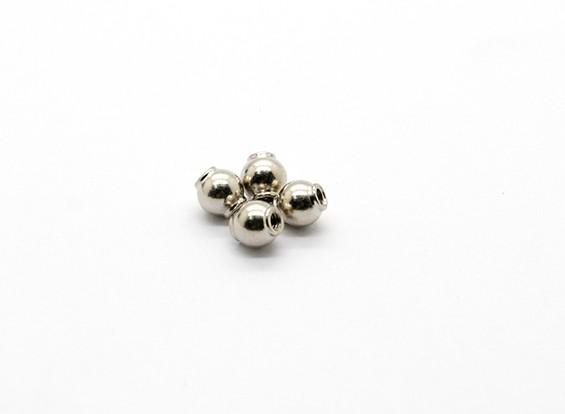 Estremità della sfera C (4 pezzi) - Basher Rocksta 1/24 4WS Mini Rock Crawler