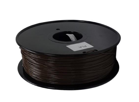 Dipartimento Funzione 3D filamento stampante 1,75 millimetri PLA 1KG spool (caffè)