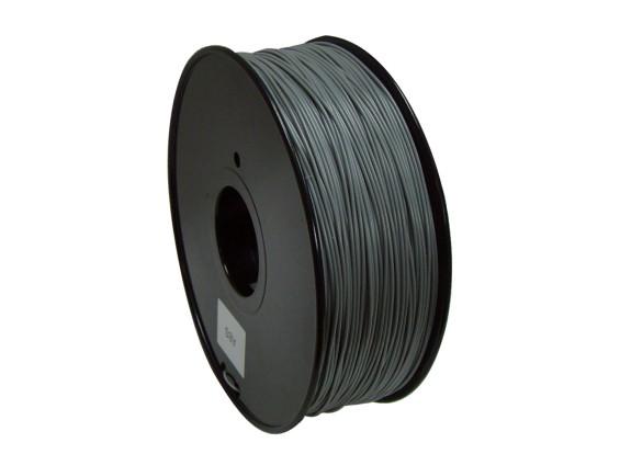 Dipartimento Funzione 3D filamento stampante 1,75 millimetri PLA 1KG spool (Cambiare colore - grigio a bianco)