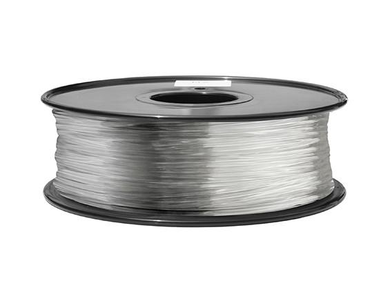 Dipartimento Funzione 3D filamento stampante 1,75 millimetri ABS 1KG spool (completamente trasparente)