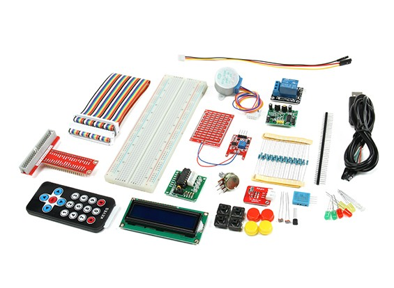 Raspberry Pi Starter Kit con telecomando IR