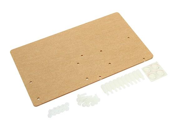 Piastra di montaggio acrilico per schermi LCD Arduino LCD1602